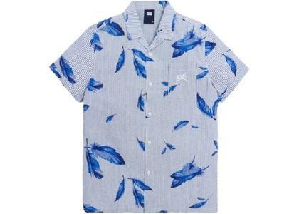 Kith Camp Collar Seersucker Shirt Navy/Multi の写真