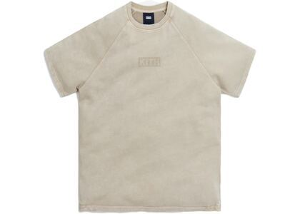 Kith Howard Crystal Wash Baby Terry Shirt White Pepper の写真