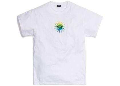 Kith Uprising Sun Tee White の写真