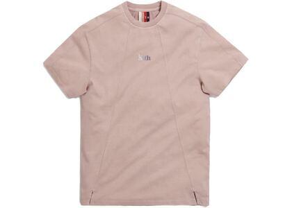 Kith Garment Dyed Paneled Tee Woodrose の写真