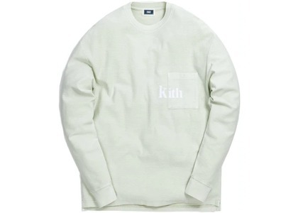 Kith Quinn Crystal Washed L/S Tee Mint の写真