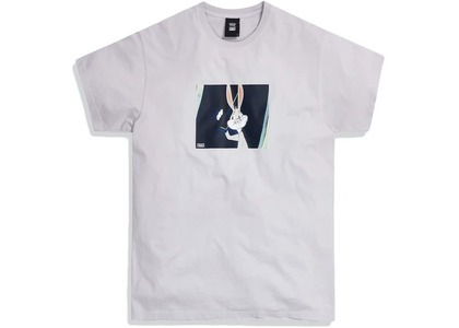 Kith x Looney Tunes What's Up Doc Tee Oyster Mushroom の写真