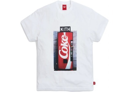 Kith x Coca-Cola Machine Vintage Tee White の写真