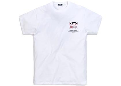 Kith Records Tee White の写真