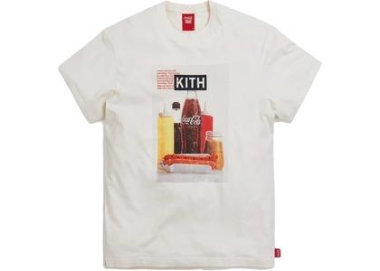 Kith x Coca-Cola Hot Dog Vintage Tee Ivory の写真