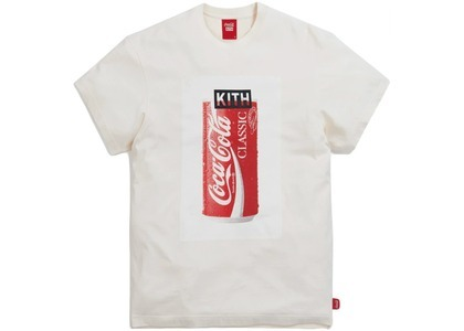 Kith x Coca-Cola Can Vintage Tee Ivory の写真