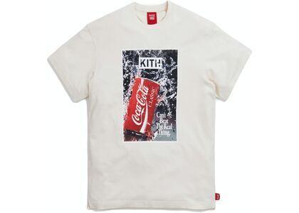 Kith x Coca-Cola Splash Vintage Tee Ivory の写真