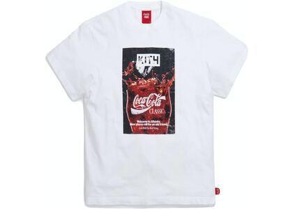 Kith x Coca-Cola Splash Vintage Tee White の写真