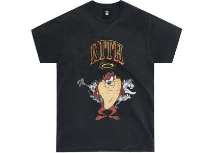 Kith x Looney Tunes Taz Vintage Tee Black の写真