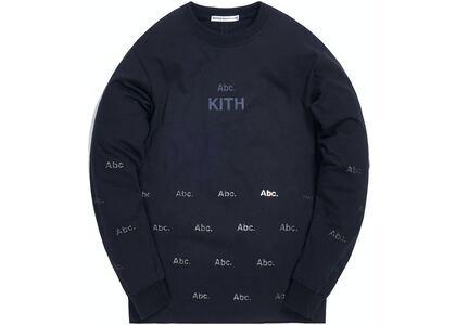 Kith x Advisory Board Crystals Diagram L/S Tee Black の写真