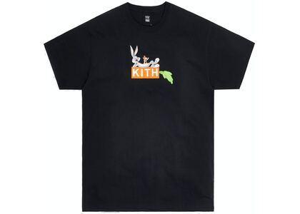 Kith x Looney Tunes Carrot Tee Black の写真