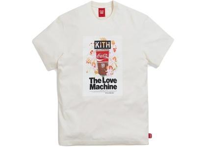 Kith x Coca-Cola Love Machine Vintage Tee Ivory の写真