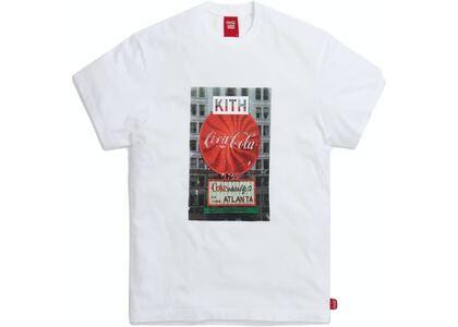 Kith x Coca-Cola Atlanta Vintage Tee White の写真