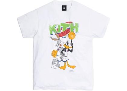 Kith x Looney Tunes KithJam Vintage Tee White の写真