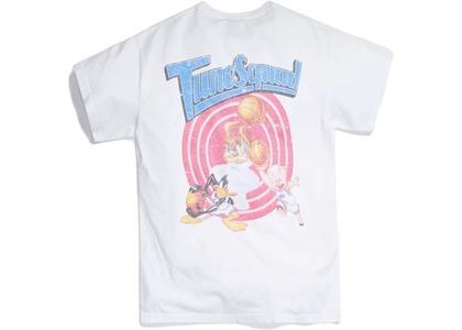 Kith x Looney Tunes Tunesquad Vintage Tee White の写真