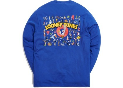 Kith x Looney Tunes That's All Folks LS Tee Blue の写真
