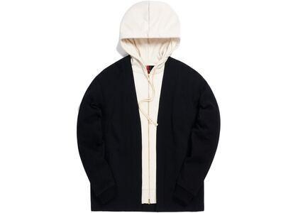 Kith Haori Zip-Up Hoodie Black の写真