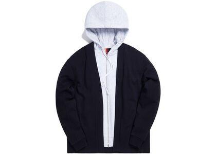 Kith Haori Zip-Up Hoodie Navy の写真