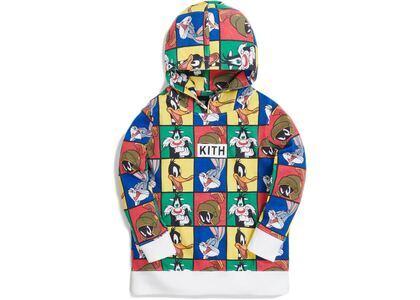 Kith Kids x Looney Tunes AOP Hoodie White/Multi の写真