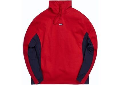 Kith L/S Pullover Heavy Jersey Red の写真