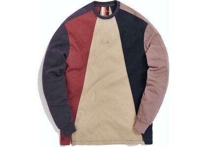 Kith Paneled Pullover Khaki Multi の写真