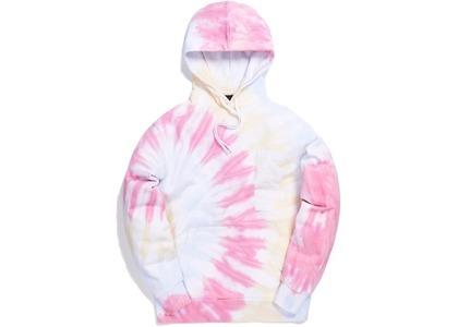 Kith Tie Dye Williams I Hoodie Pink の写真
