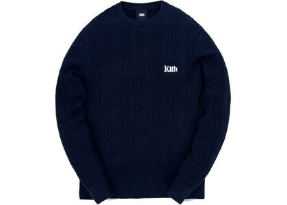 Kith Vintage Tilden Crewneck Sweater Obsidian Navy の写真