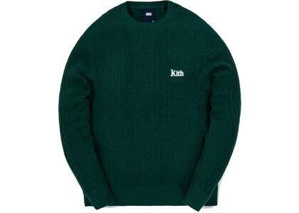 Kith Vintage Tilden Crewneck Sweater Scarab の写真