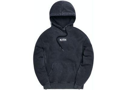 Kith Williams III Crystal Wash Fleece Hoodie Black の写真