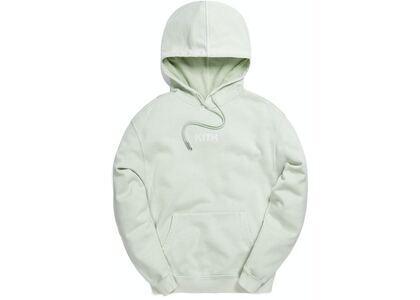 Kith Williams III Crystal Wash Fleece Hoodie Mint の写真