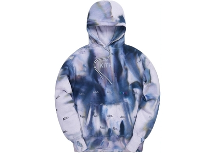 Kith x Advisory Board Crystals Holograph Hoodie Storm Dye の写真