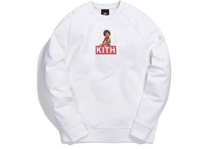 Kith x Biggie Classic Logo Crewneck White の写真