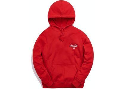 Kith x Coca-Cola Ribbon Logo Hoodie Red の写真