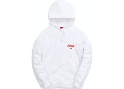 Kith x Coca-Cola Ribbon Logo Hoodie White の写真