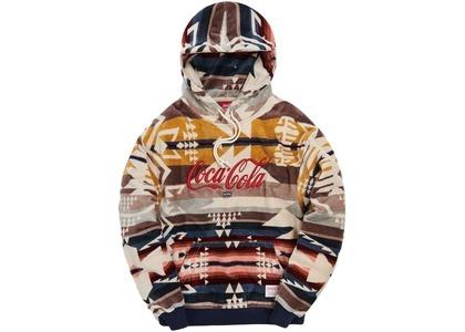 Kith x Coca-Cola x Pendleton Terry Williams 3 Hoodie Ivory/Multi の写真