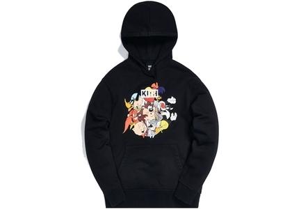 Kith x Looney Tunes Merrie Melodies Vintage Hoodie Black の写真