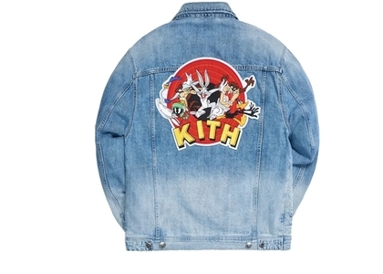 Kith x Looney Tunes Denim Jacket Jacket Blue の写真