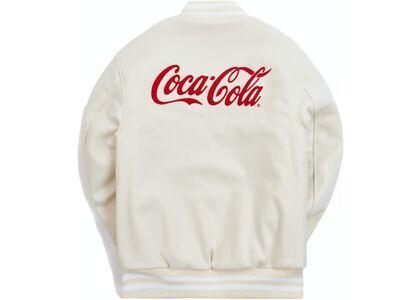 Kith x Coca-Cola x Golden Bear Varsity Bomber Natural の写真