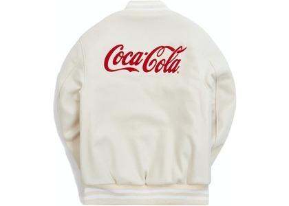 Kith x Coca-Cola x Mitchell & Ness Coke Coaches Jacket Navy の写真