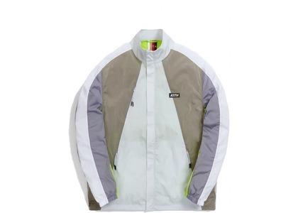 Kith Zip Front Track Jacket Minimal Grey の写真