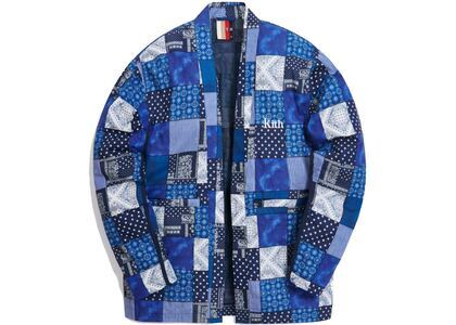 Kith Indigo Patchwork Kimono Navy/Multi の写真