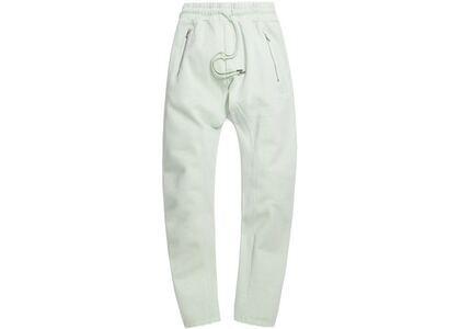 Kith Bleecker Crystal Wash Fleece Sweatpant Mint の写真