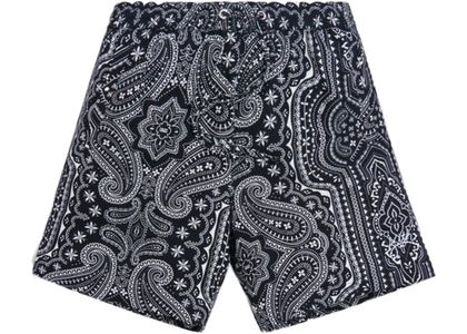 Kith Hardaway Silk Cotton Short Black/Multi の写真