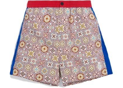 Kith Printed Shorts w Side Panel Brown/Multi の写真