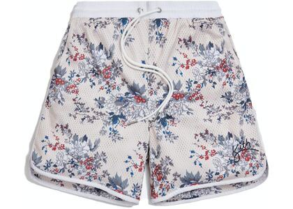 Kith Floral Panel Active Short Ivory/Multi の写真