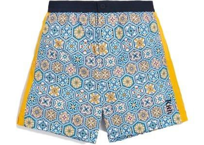 Kith Printed Shorts w Side Panel Blue/Multi の写真