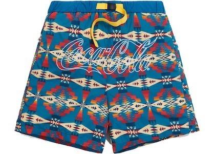 Kith x Coca-Cola x Pendleton Swim Short Teal/Multi の写真
