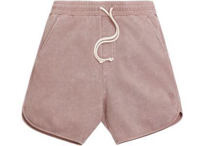Kith Jordan Crystal Wash Baby Terry Shorts Antler の写真