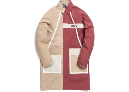 Kith Color Blocked Mac Coat Beigeの写真