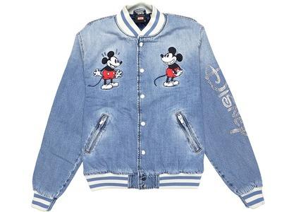Kith x Disney Denim Varsity Jacket Indigoの写真